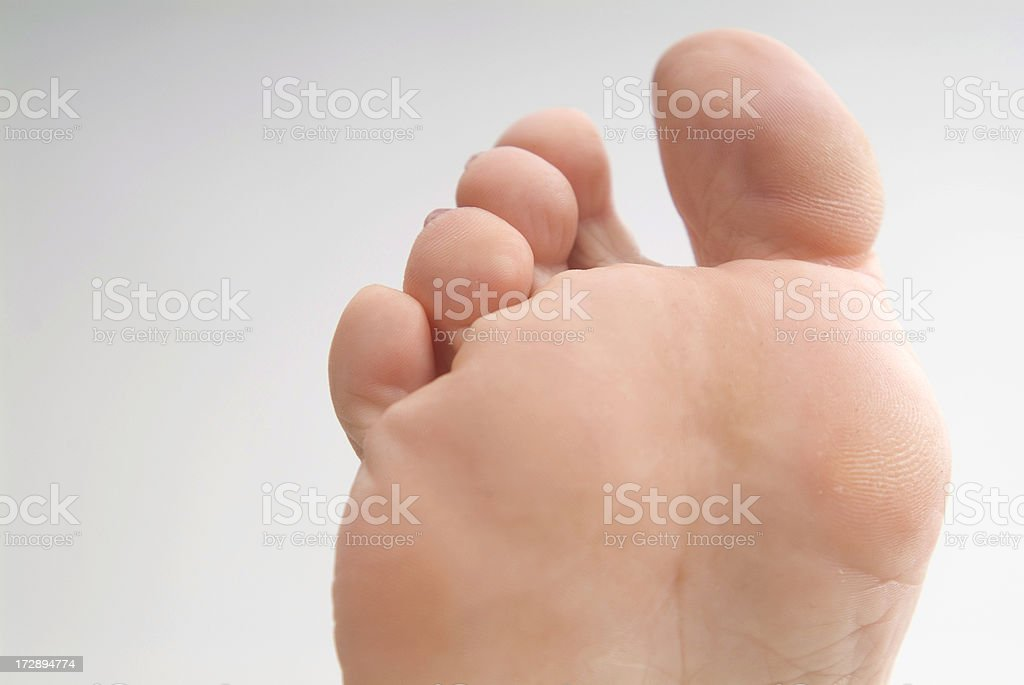 Barefoot Series royalty-free stock photo