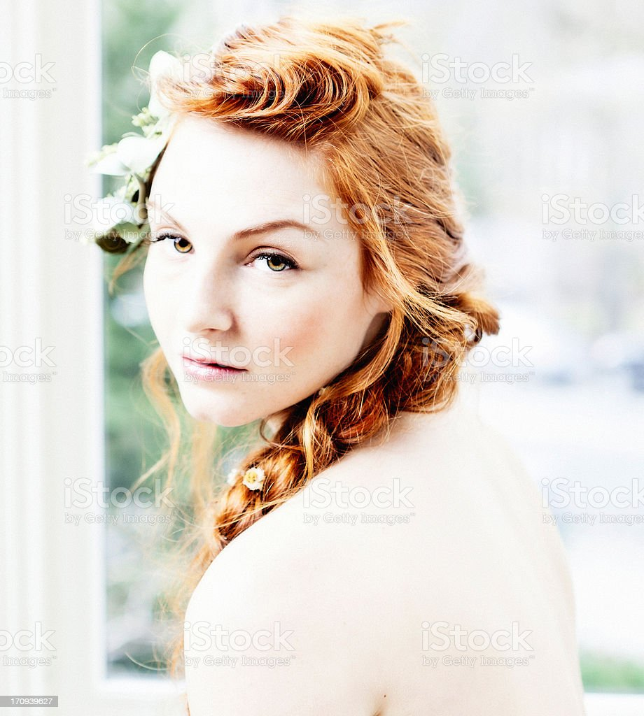 Barely There Beauty royalty-free stock photo