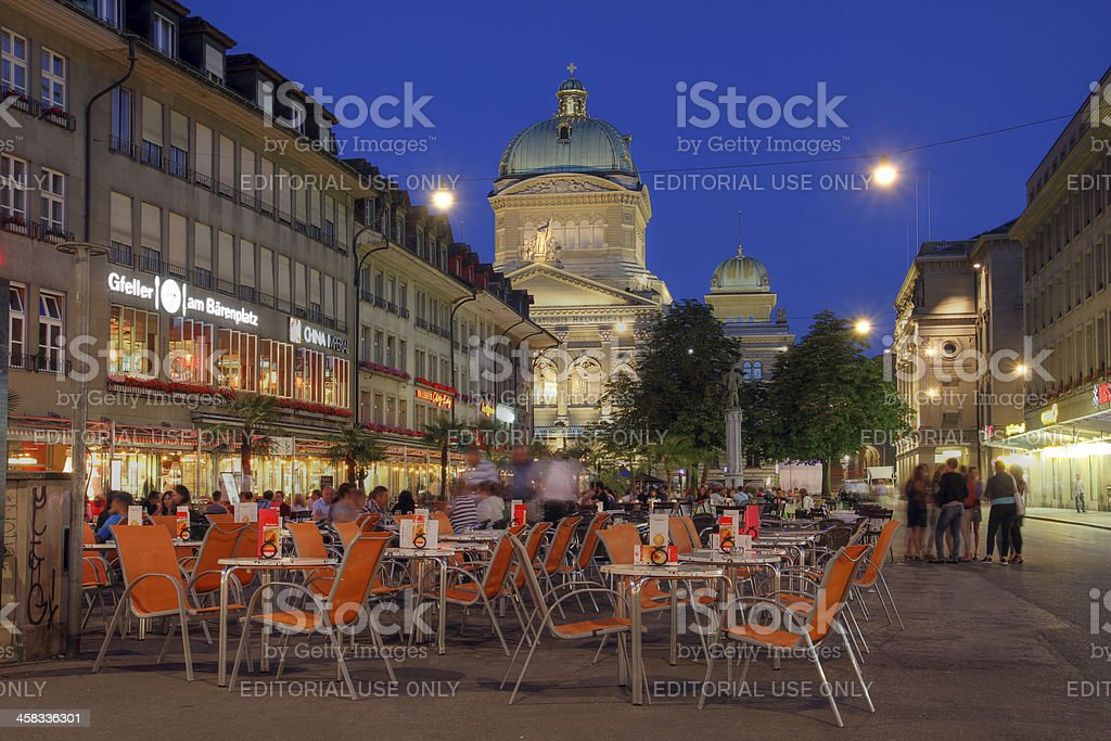 Barenplatz, Bern, Switzerland royalty-free stock photo