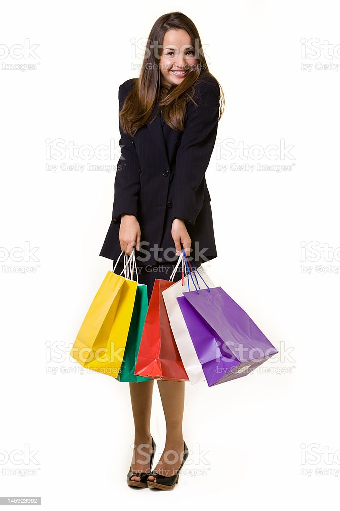 Bargain hunter royalty-free stock photo