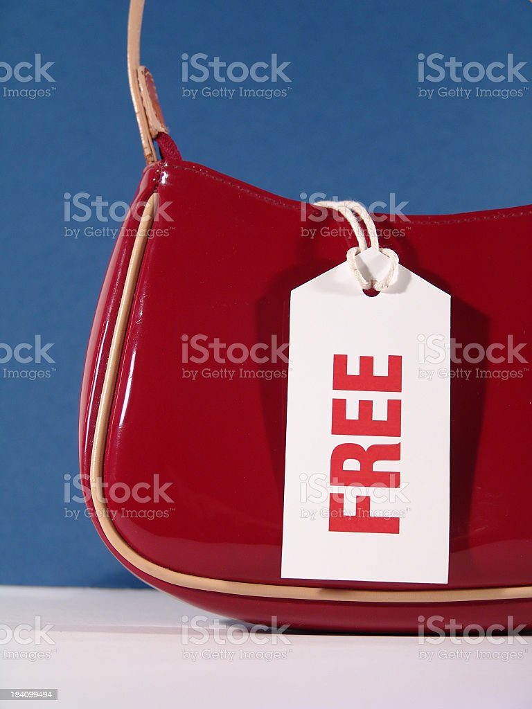Bargain in a Bag royalty-free stock photo