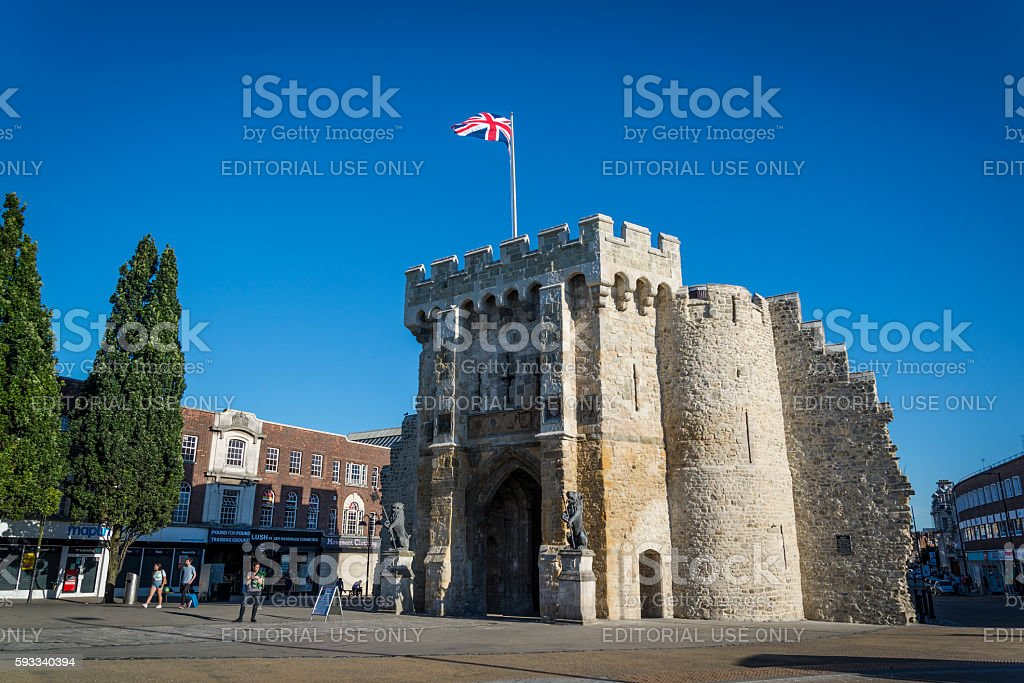 Bargate, Southampton, Hampshire, England, UK stock photo