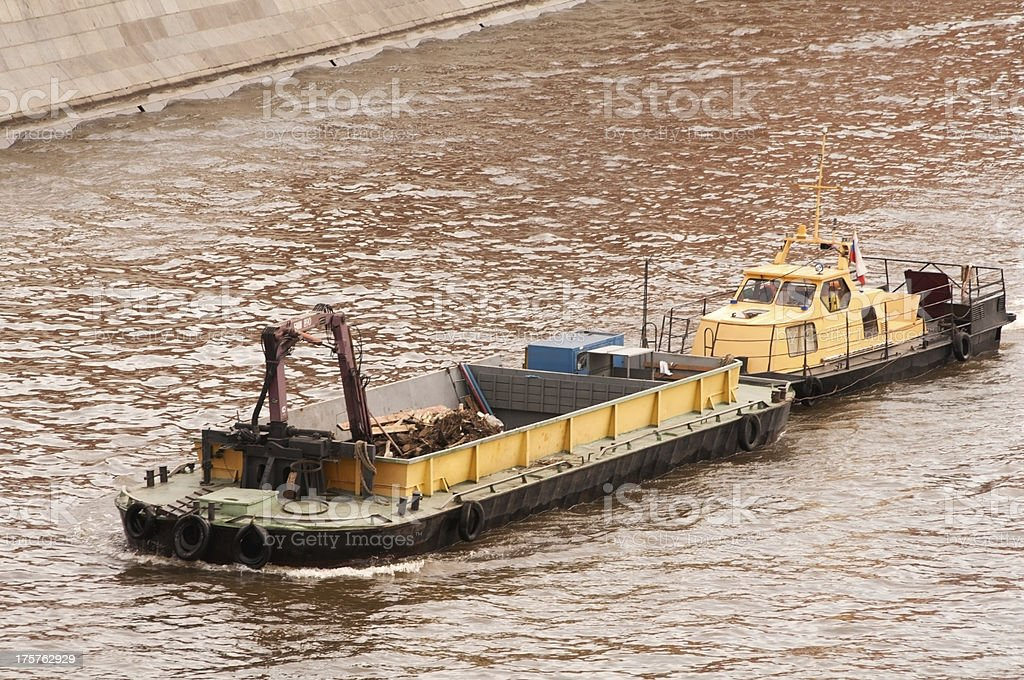 barge royalty-free stock photo