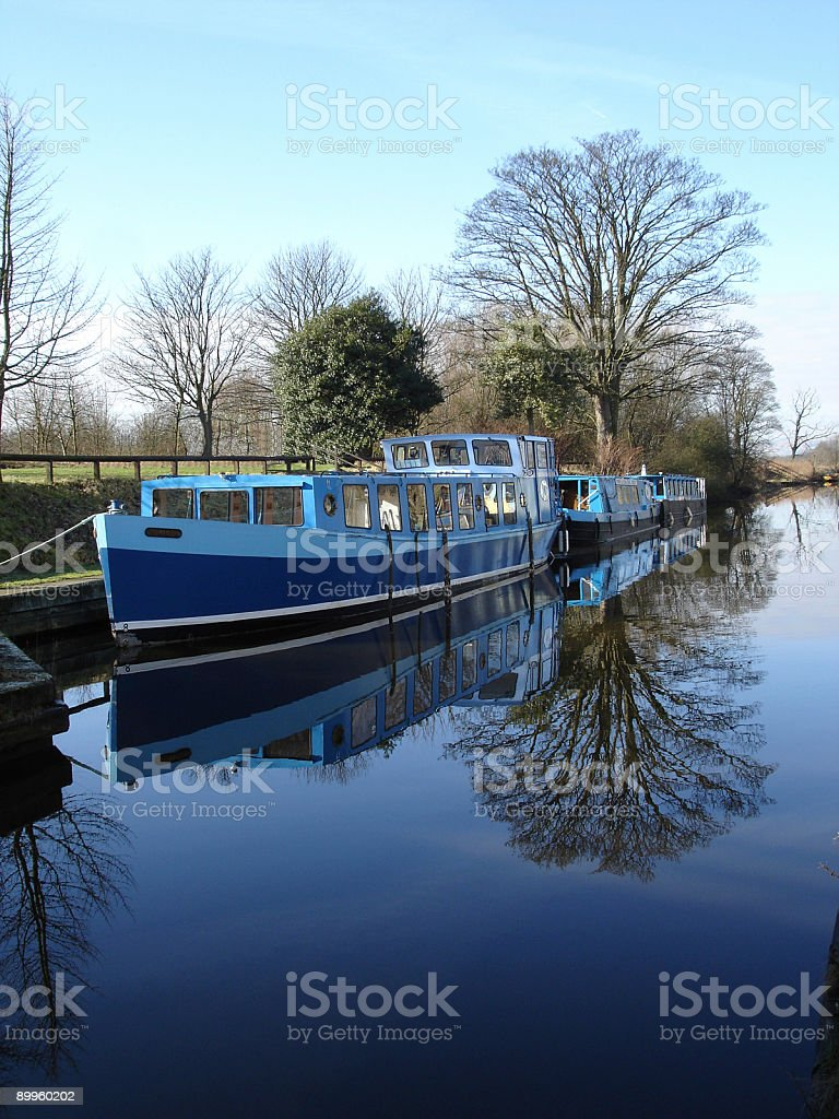 Barges royalty-free stock photo