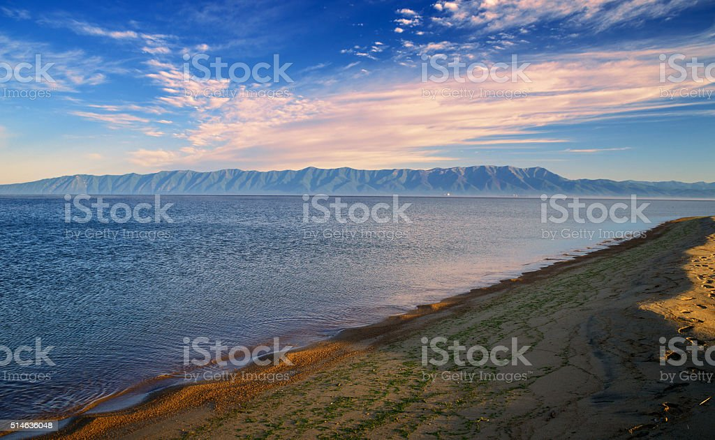 Barguzinsky Bay stock photo