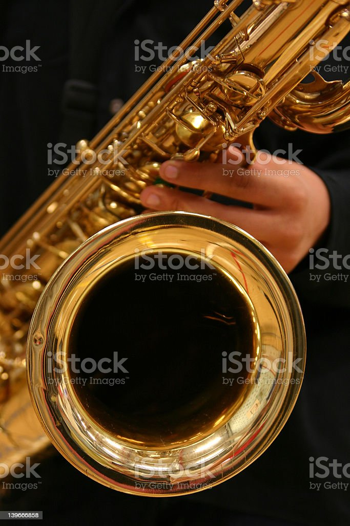 Bari Sax stock photo