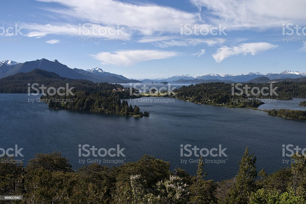 Bariloche Argentina royalty-free stock photo