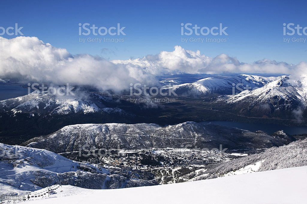 Bariloche royalty-free stock photo