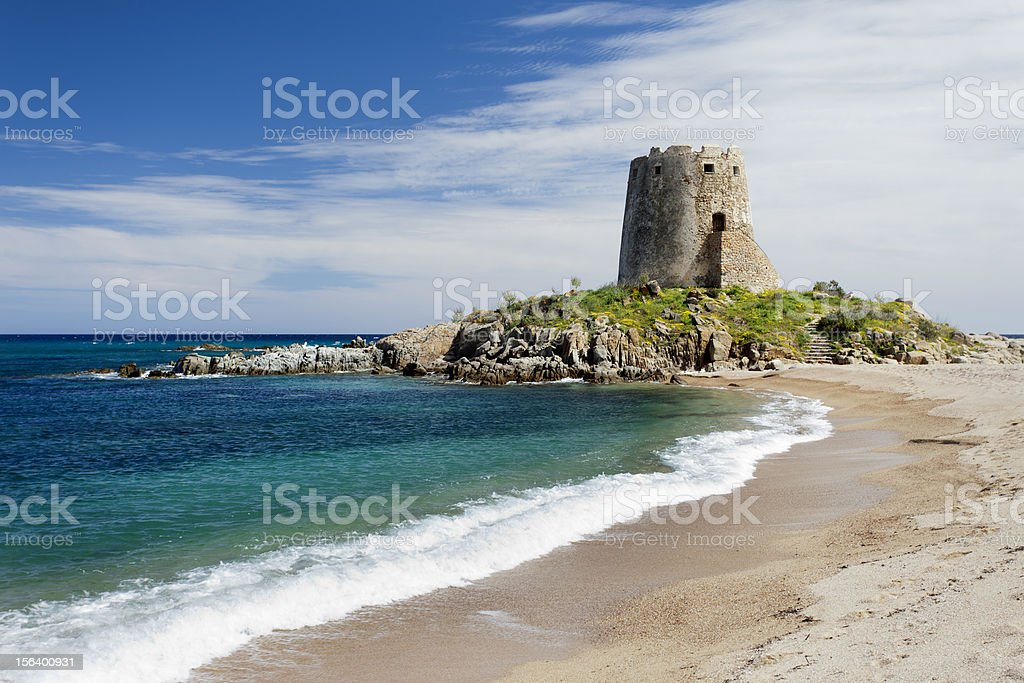 Barisardo beach (Sardinia,Italy) stock photo
