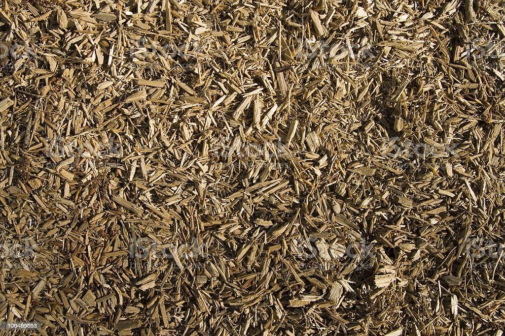 Bark mulch royalty-free stock photo