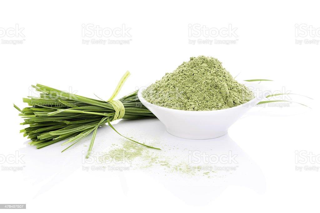 Barley Grass. royalty-free stock photo