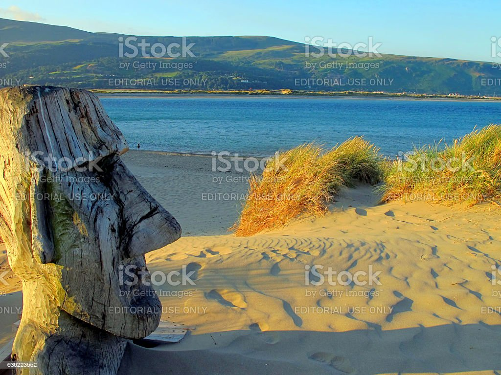 Barmouth, Wales. stock photo