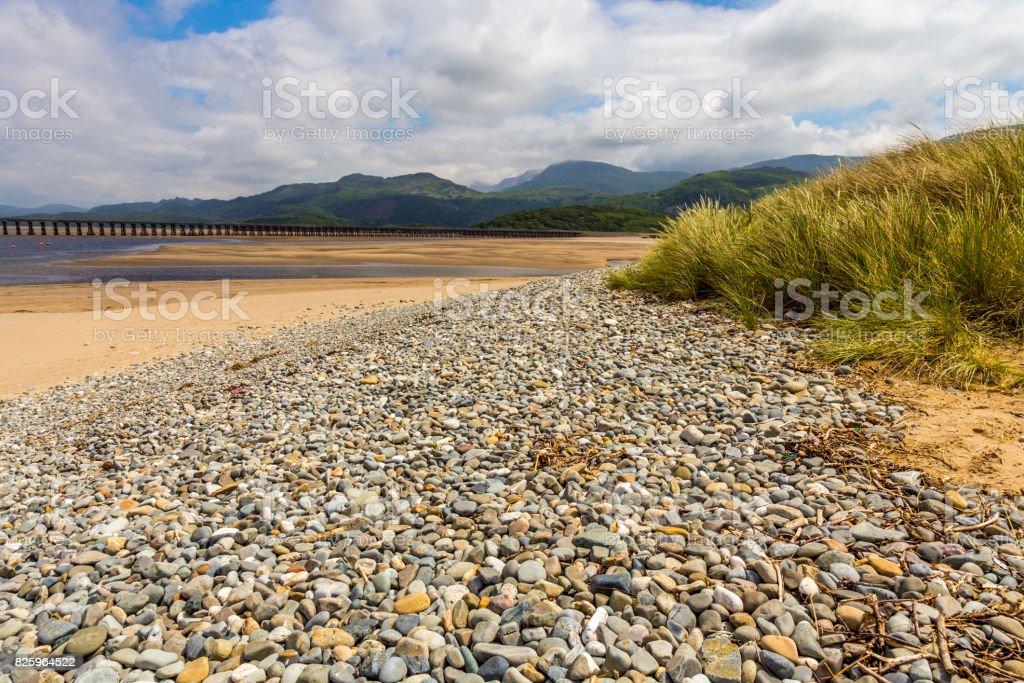 Barmouth, Wales stock photo
