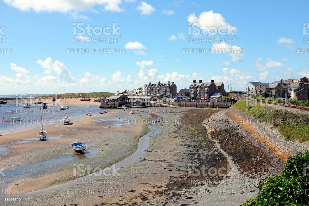 Barmouth, Wales. stock photo
