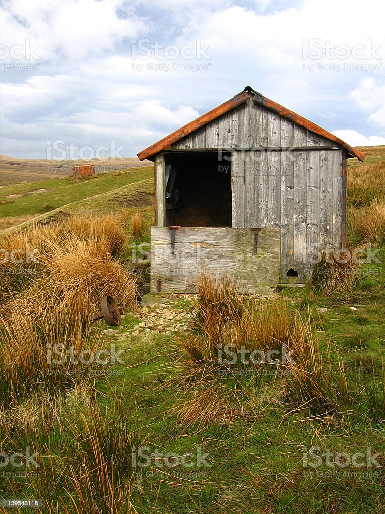 Barn 1 royalty-free stock photo