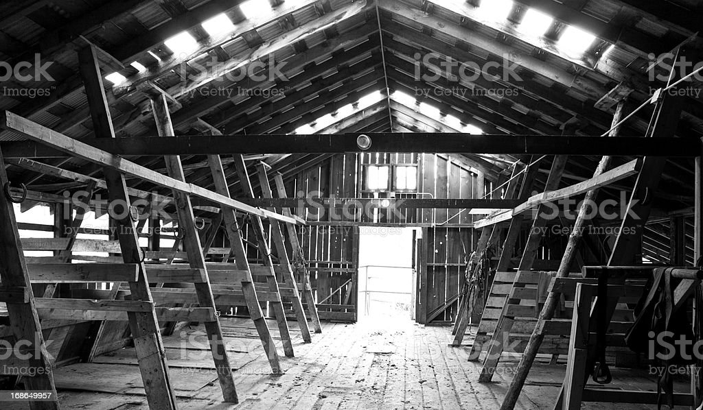Barn and Stables royalty-free stock photo