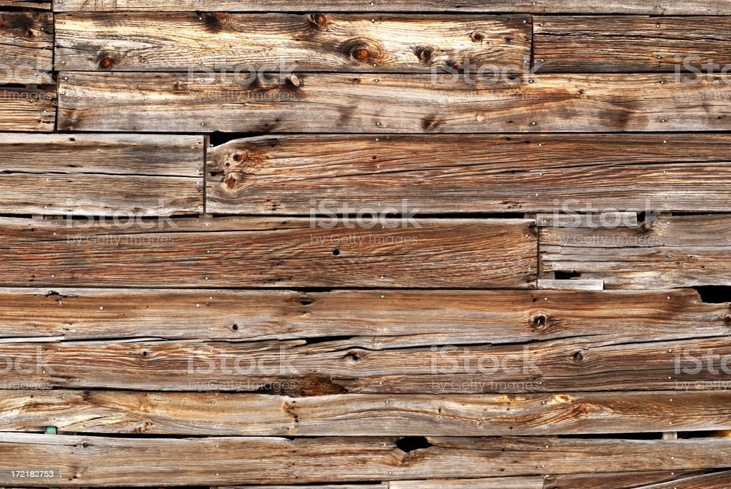 barn boards stock photo