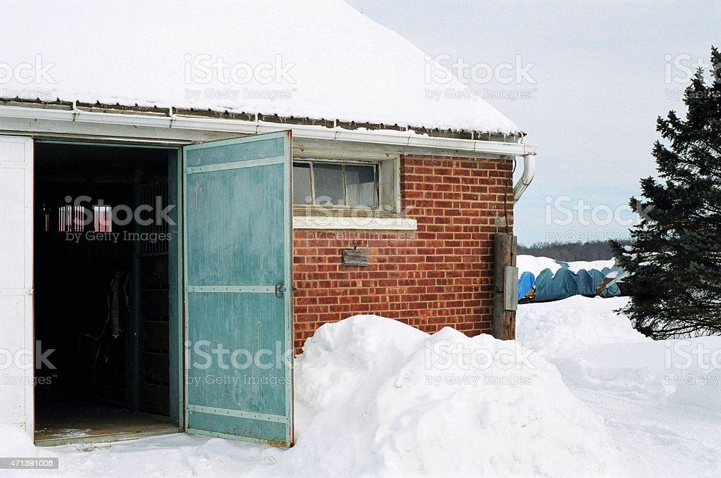 Porte de grange photo libre de droits