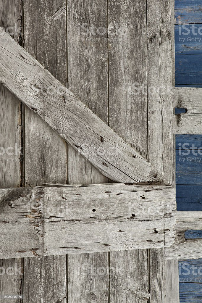 barn door royalty-free stock photo