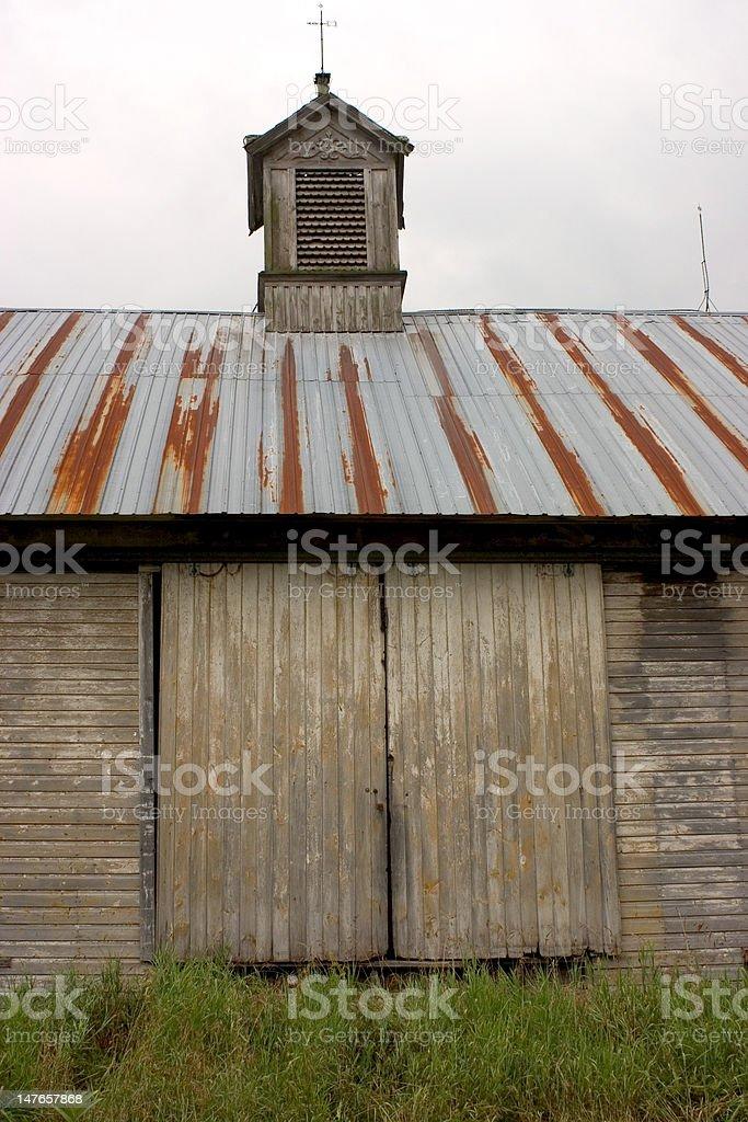 Barn Doors royalty-free stock photo