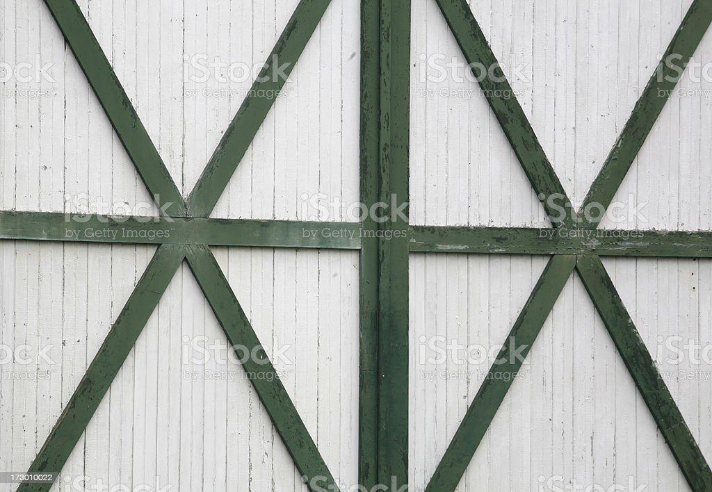barn doors stock photo