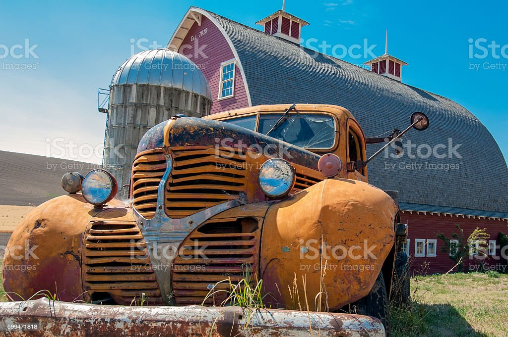 Barn Find stock photo