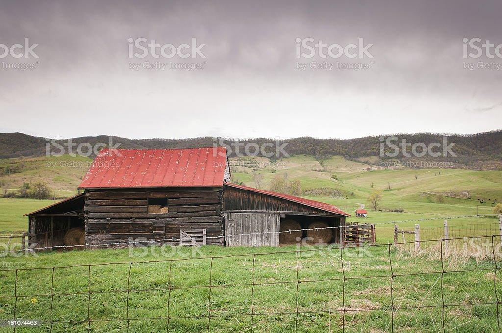 Barn in Virginia royalty-free stock photo