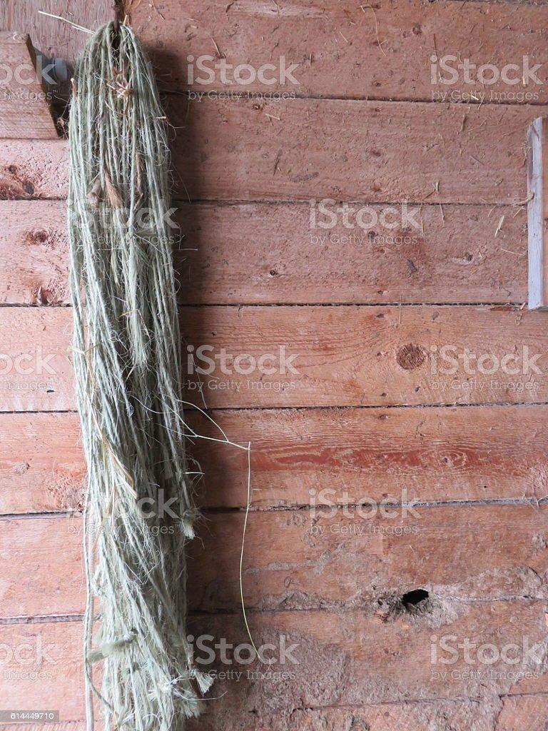 Barn planks stock photo