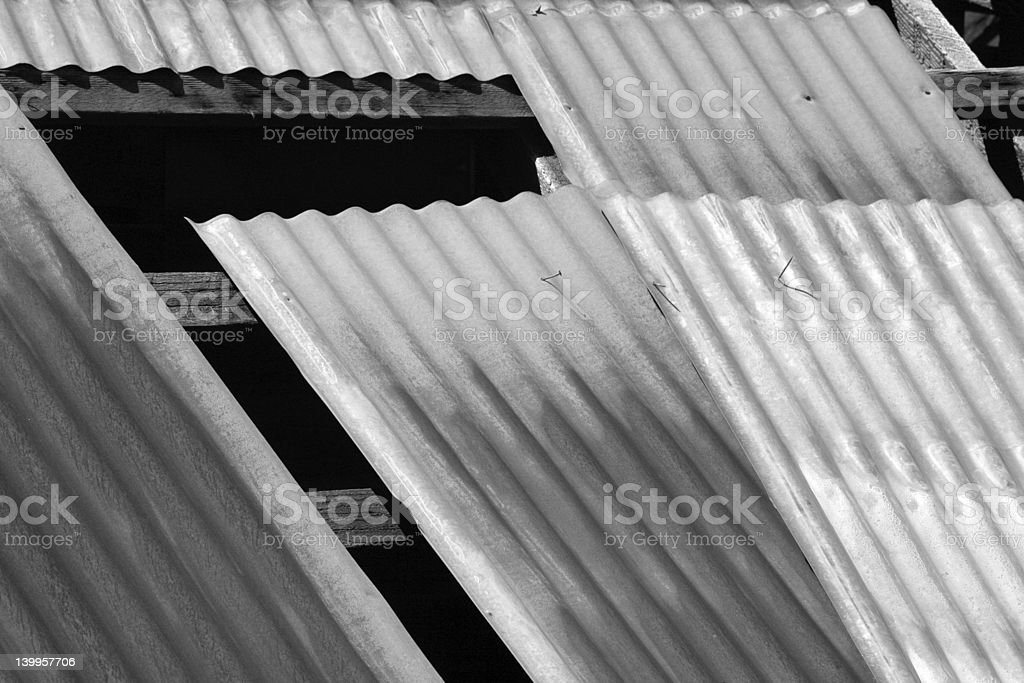Barn roof royalty-free stock photo