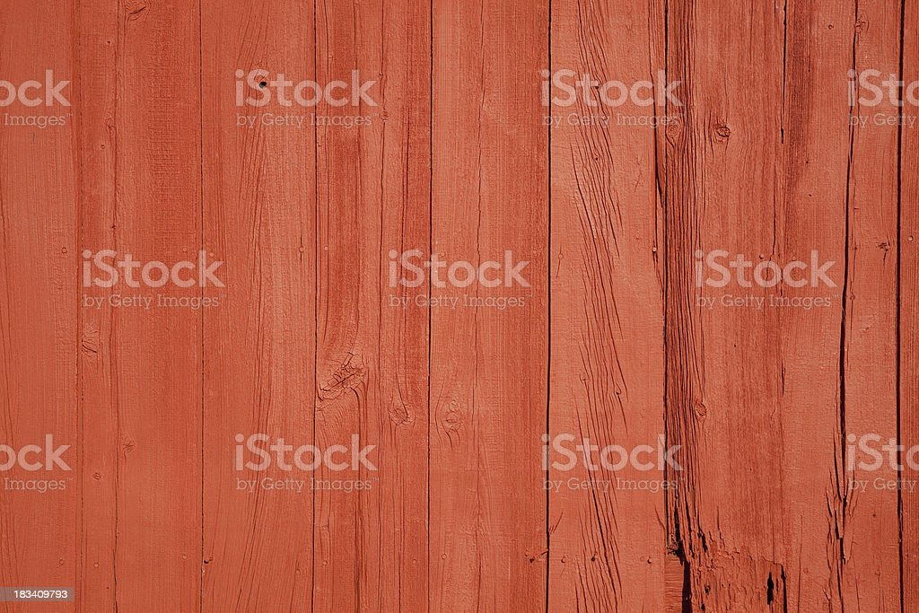 Barn Siding with Fresh Paint stock photo