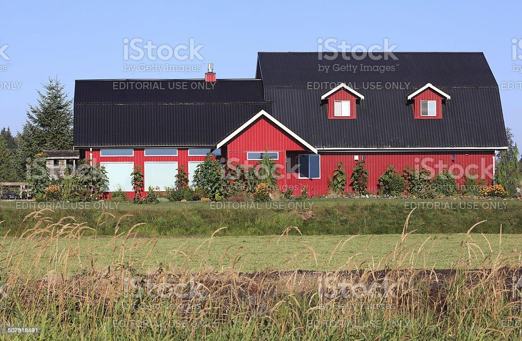 Barn Style Architecture stock photo