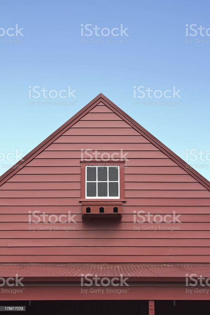 barn window royalty-free stock photo