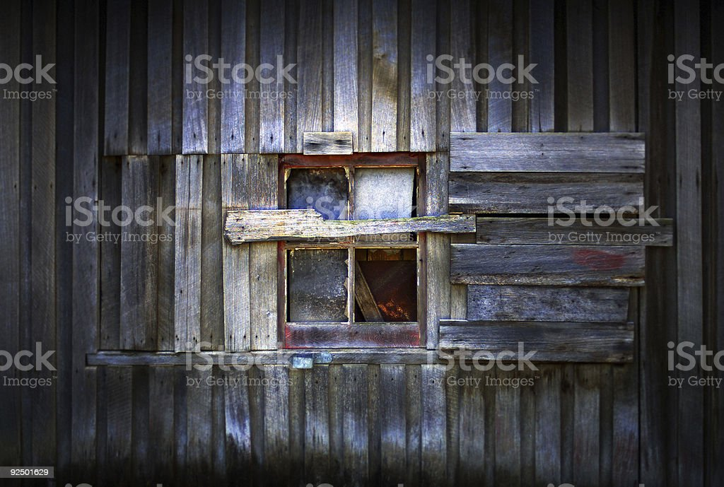 Barn Window royalty-free stock photo