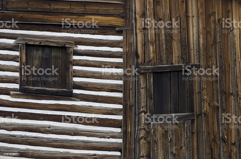 Barn Windows royalty-free stock photo