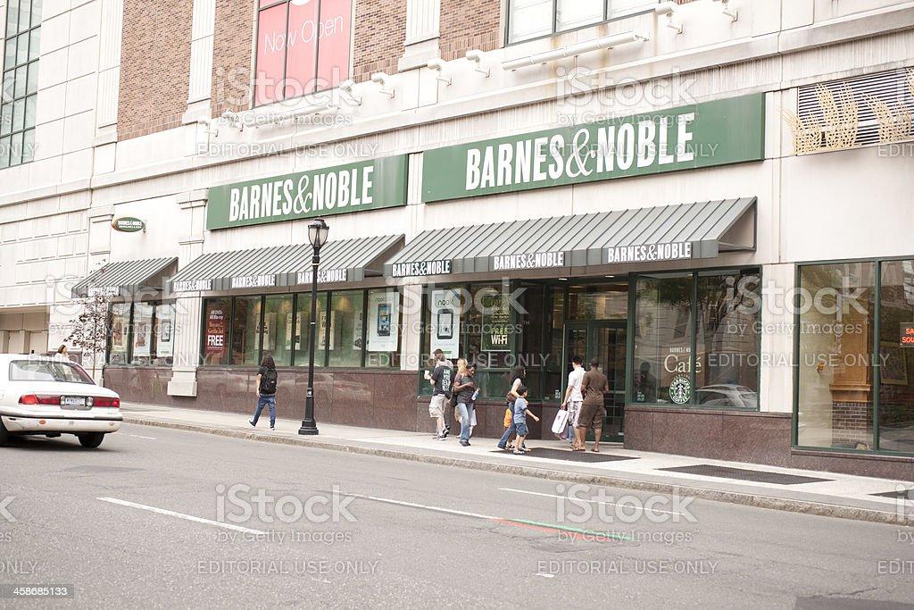 Barnes & Noble stock photo