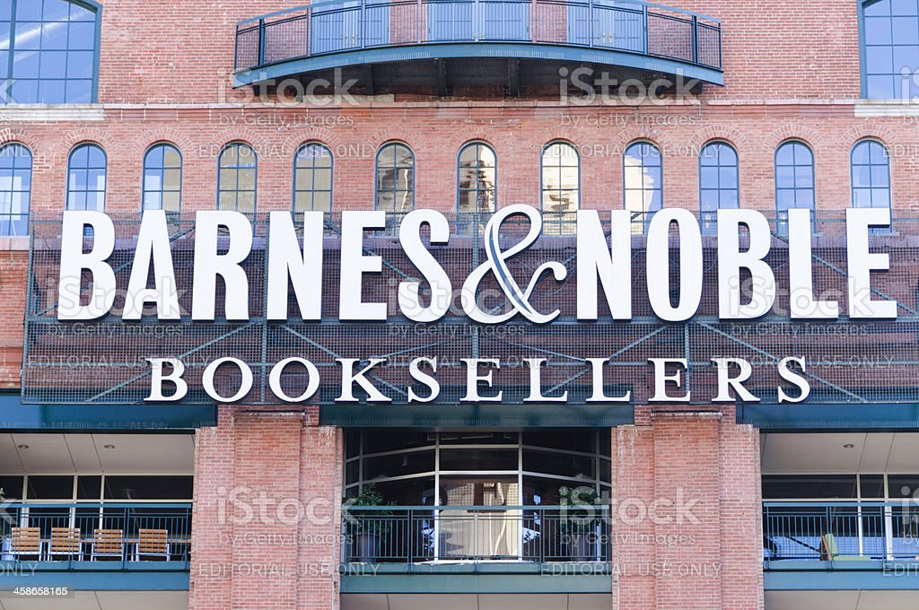 Barnes & Noble store at Inner Harbor in Baltimore, Maryland stock photo