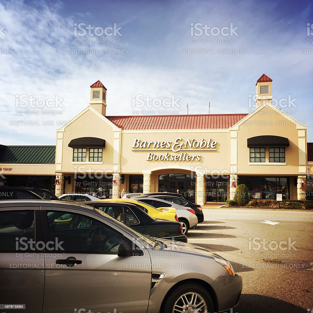 Barnes and Noble Book Store in Pittsburgh stock photo
