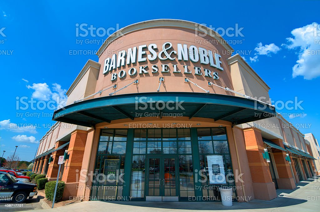 Barnes and Noble Booksellers stock photo