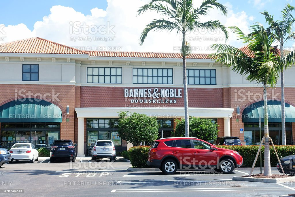 Barnes and Noble Booksellers store stock photo