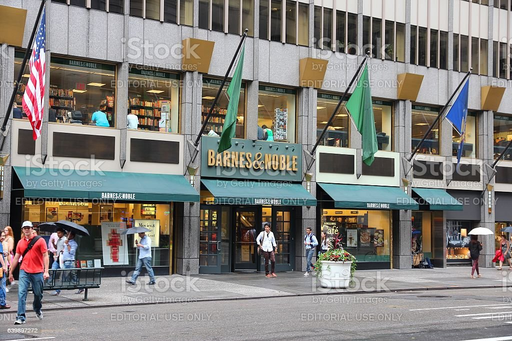 Barnes and Noble stock photo