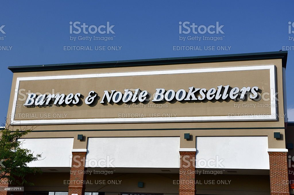 Barnes & Noble Booksellers store stock photo