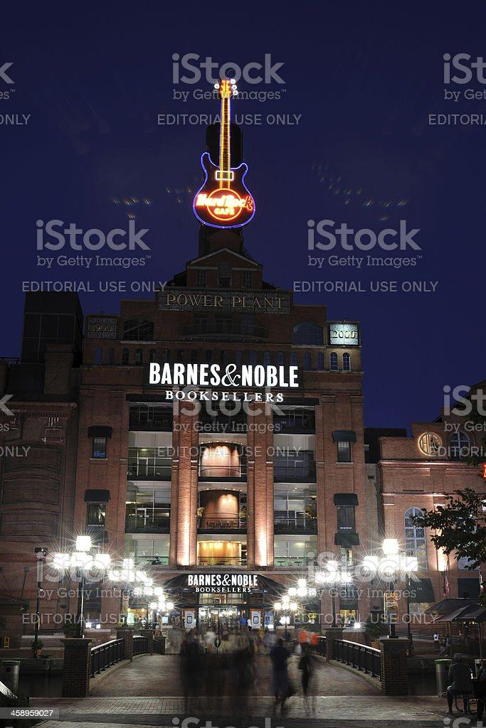 Barnes & Noble Bookstore in Baltimore stock photo