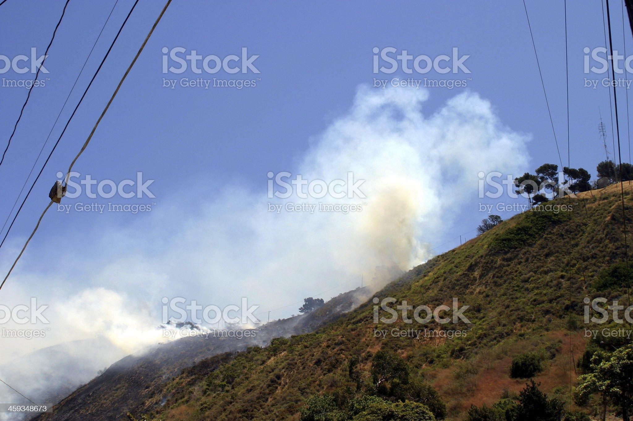Barnett Fire royalty-free stock photo