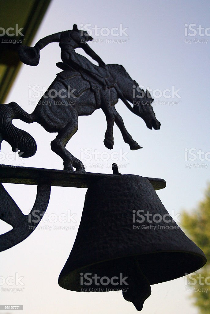 Barnyard Bell stock photo