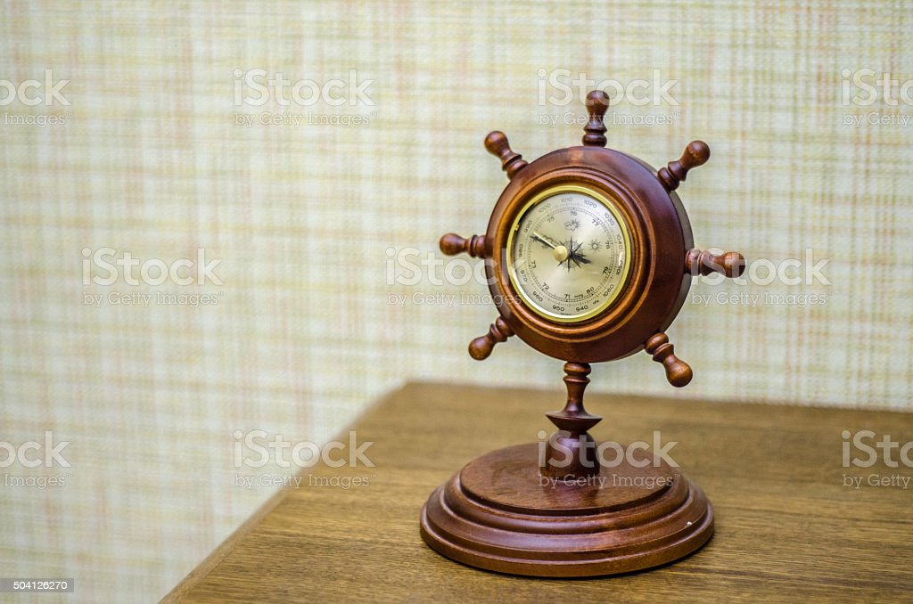 barometer at home stock photo