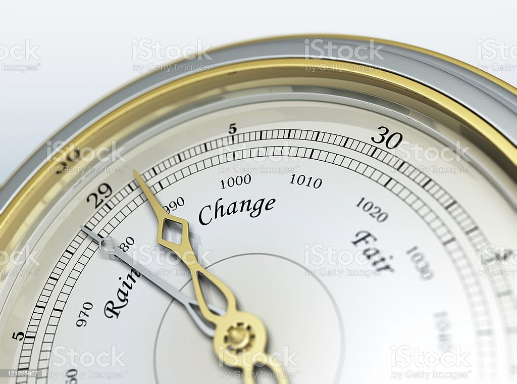 Barometer royalty-free stock photo