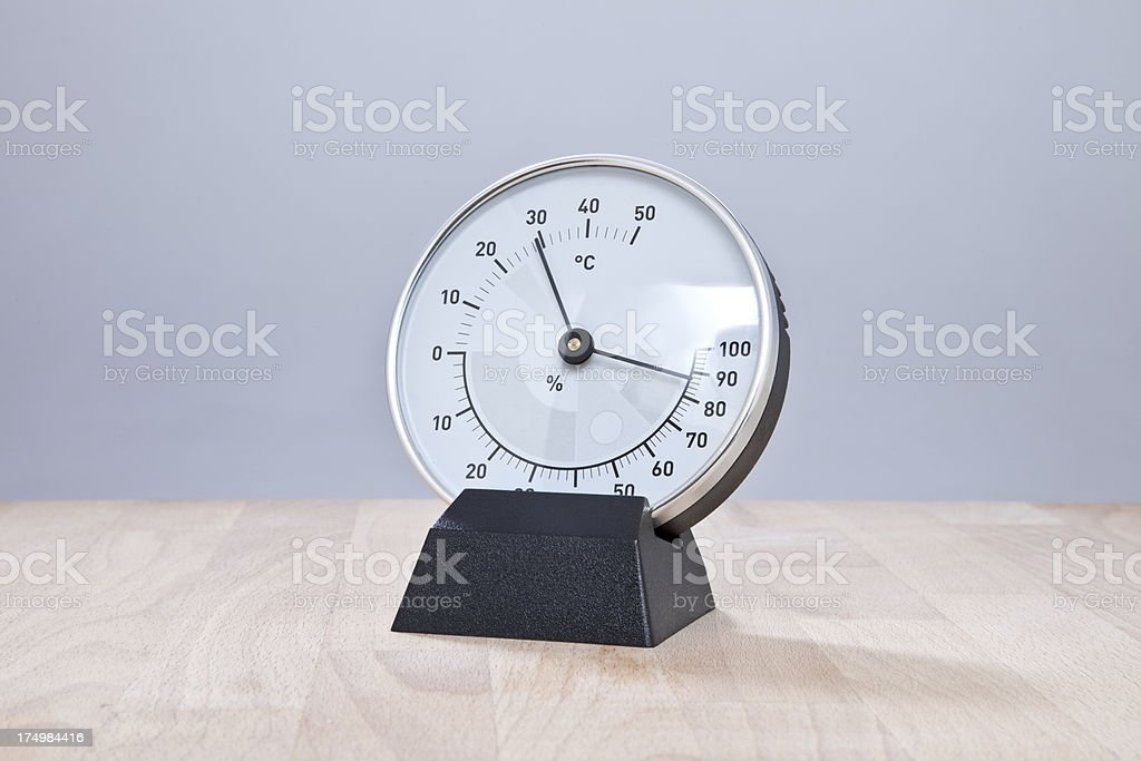 Barometer royalty-free stock photo