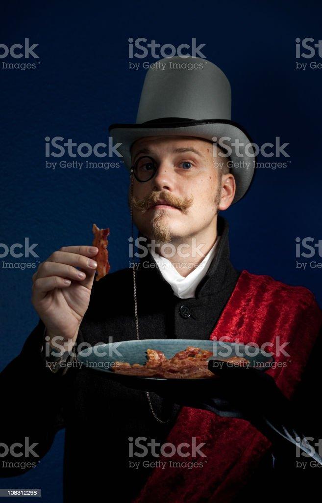 Baron von Bacon royalty-free stock photo