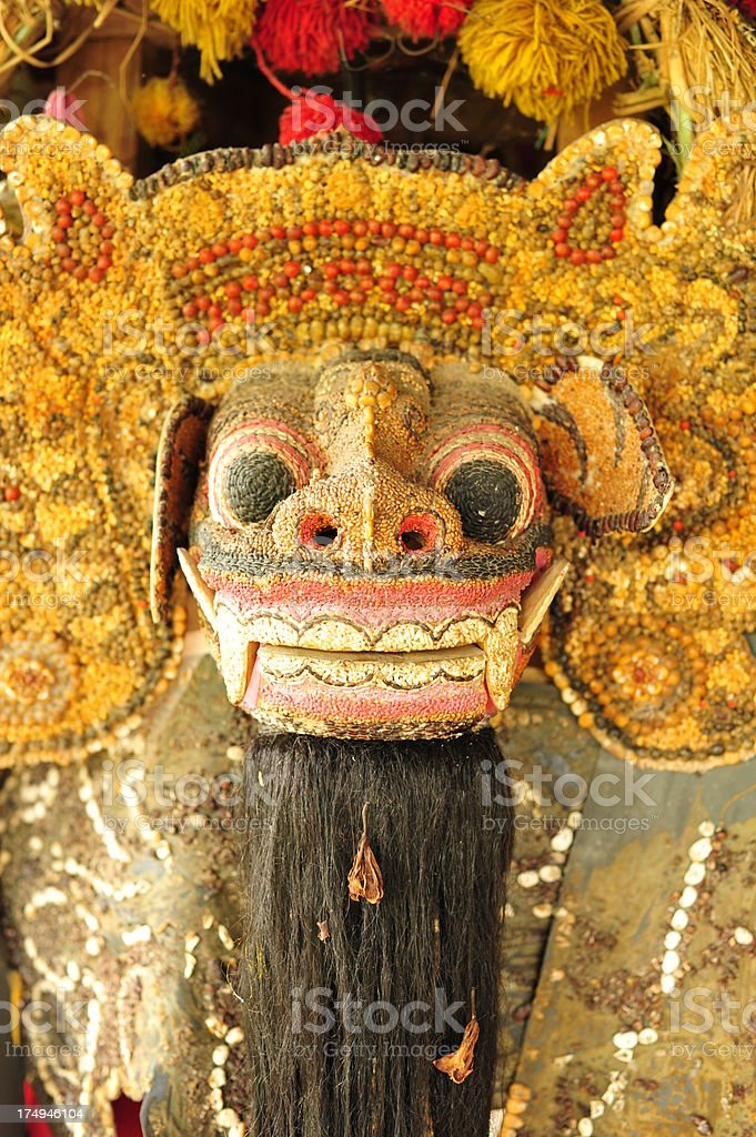 Barong Lion, Bali royalty-free stock photo