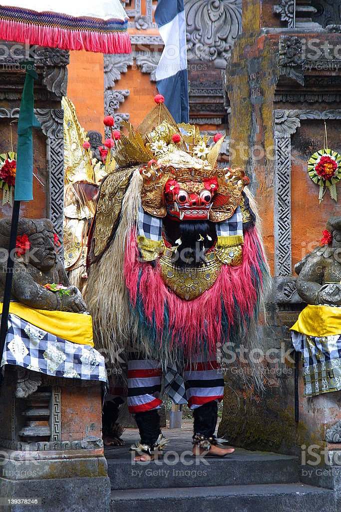 Barong stock photo
